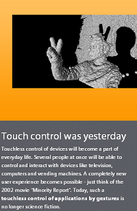 touch control versus gesture control
