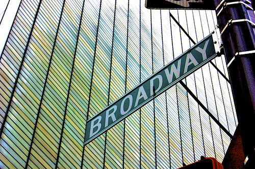 Broadway - image courtesy Flickr user GarettTT