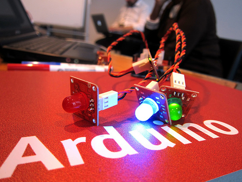 Arduino – image credit Flickr user mozillaeu
