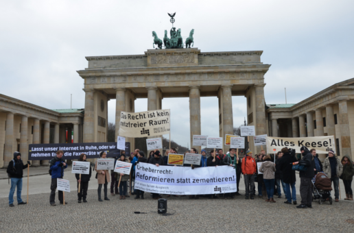 Germany LSR bill protest