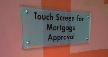 touchscreen mortgage