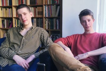 Raphael and Maxim Nitsche, the two brothers behind Math 42.