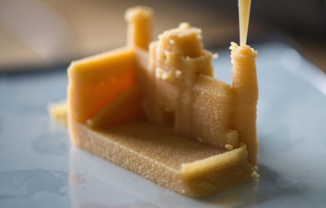 Bocusini 3D prints food in every imaginable shape.