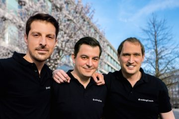 The founders of Rankingcoach: Marius Gerdan, Daniel Wette and Thomas Meierkord (from left to right).
