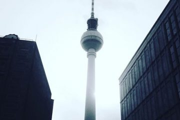 Love it or hate it, you just cannot keep the Fernsehturm from photobombing.