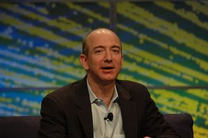 Amazon CEO Jeff Bezos. Photo credit: dfarber via Visual Hunt / CC BY-NC