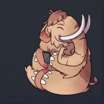 The cute Mastodon that greets the platform's users.
