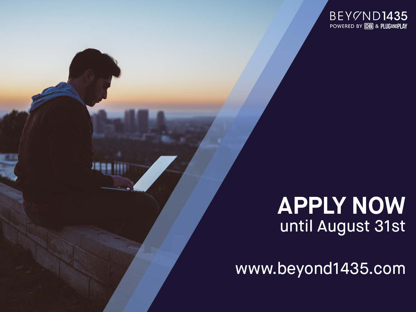 Apply for the second batch by August 31.