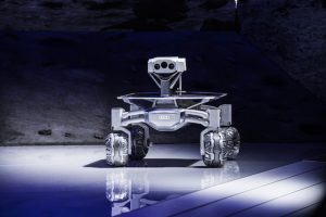The Audi Lunar Quattro (ALQ) is one of the robots designed for space exploration by PTScientists. Photo: PTScientists