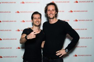 Alex Ljung and Eric Wahlforss, the founders of SoundCloud. Photo:Getty Images / Matthias Nareyek