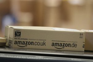 An Amazon parcel ready for delivery. Photo: Getty Images/Sean Gallup