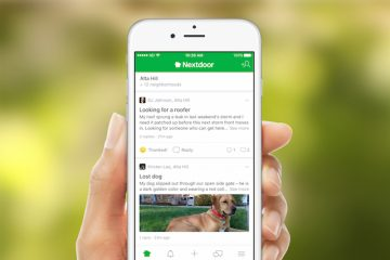 The US startup Nextdoor connects users with their neighbors.