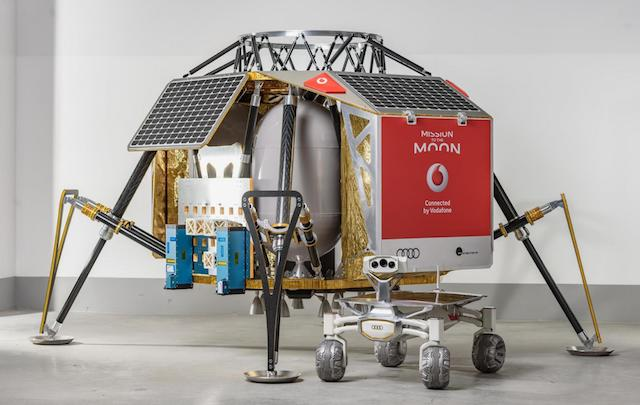 The ALINA will carry two AUDI lunar quattro rovers to the moon in 2018.