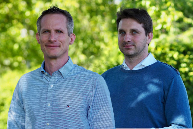 The founders of Merkurist, a media startup that received €1.5 million, Meik Schwind and Manuel Conrad.