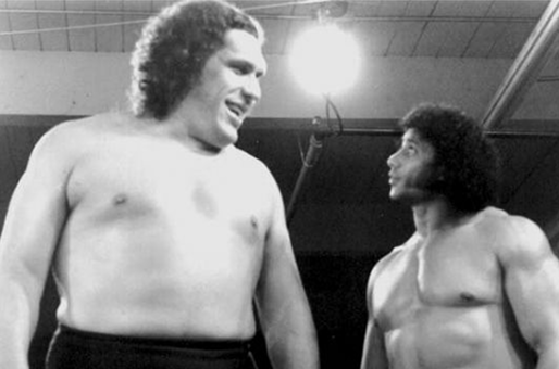 Big guy, little guy (Andre the Giant)